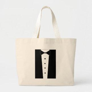 Tuxedo Jumbo Tote Bag