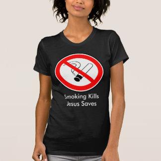 Tuxedo Kills and Jesus Saves T-Shirt