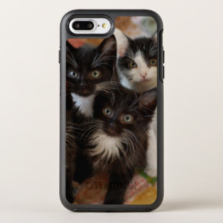 Tuxedo Kitten Group OtterBox Symmetry iPhone 7 Plus Case