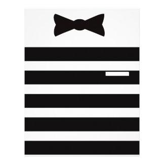 Tuxedo Man Multiple Gites Selected Custom Letterhead