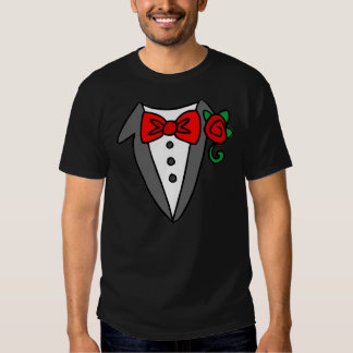 Tuxedo shirt