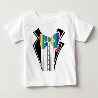 Tuxedo Shirt Rainbow