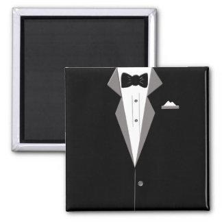 Tuxedo Suit Art Magnet