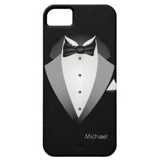 Tuxedo Suit iPhone 5 Cases