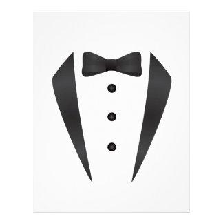 Tuxedo wedding gifts and props for groom custom letterhead