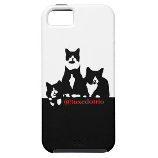 TuxedoTrio Cell Phone Case