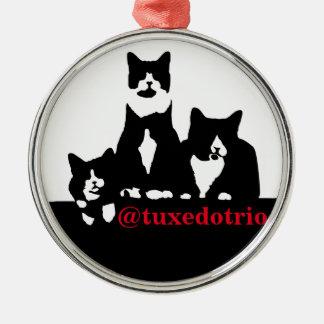 TuxedoTrio Ornament