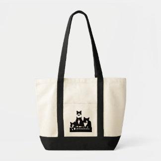 TuxedoTrio Tote Bag