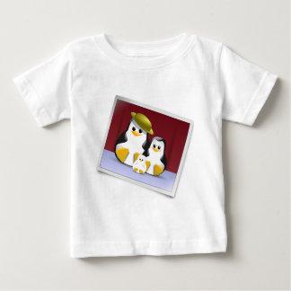 Tux's Family Baby T-Shirt