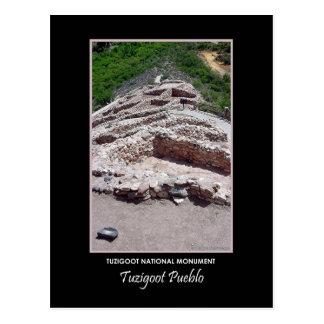 Tuzigoot Pueblo #712b Postcard