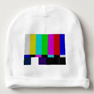 TV bars color test Baby Beanie