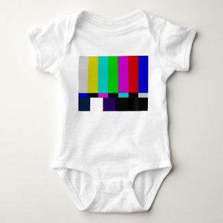 TV bars color test Baby Bodysuit