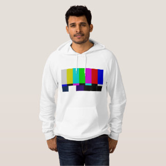 TV bars color test Hoodie