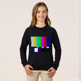 TV bars color test Sweatshirt