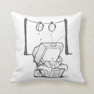 TV Brain Washing pillow