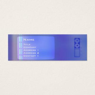 TV DNA - Skinny Mini Business Card