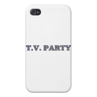 TV Party  iPhone 4/4S Covers