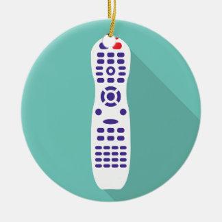TV remote Ceramic Ornament