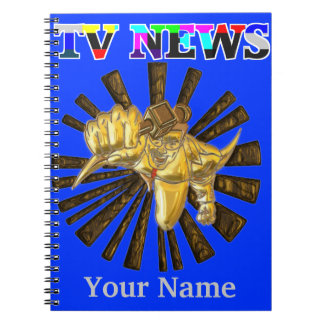 TV Superhero Notebook