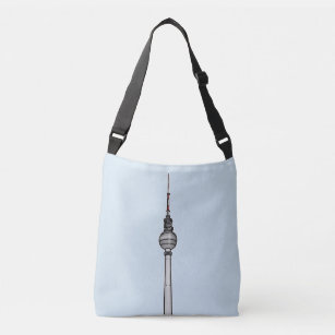 a00045f90c TV-Tower Berlin Crossbody Bag