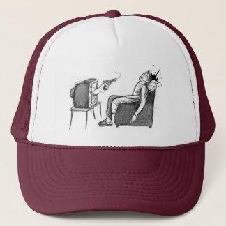 TV will kill you! Trucker Hat