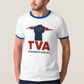 TVA Logo Shirt Grey/Blue