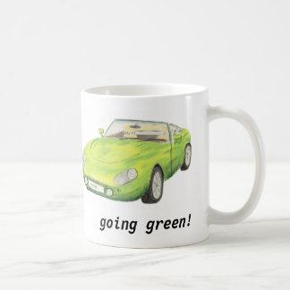 TVR Griffith, green classic car mug