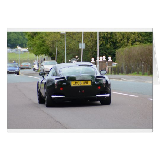 TVR Sagaris Card