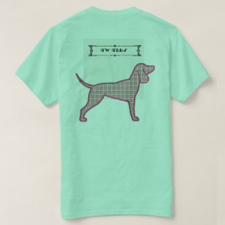 TW TEES Flannel Dog Design