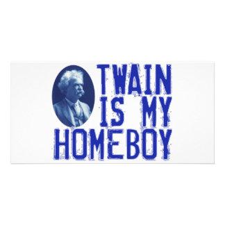 Twain Is My Homeboy Photo Greeting Card