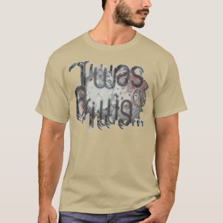 """'Twas Brillig"" Steampunk Pocketwatch in Copper T-Shirt"