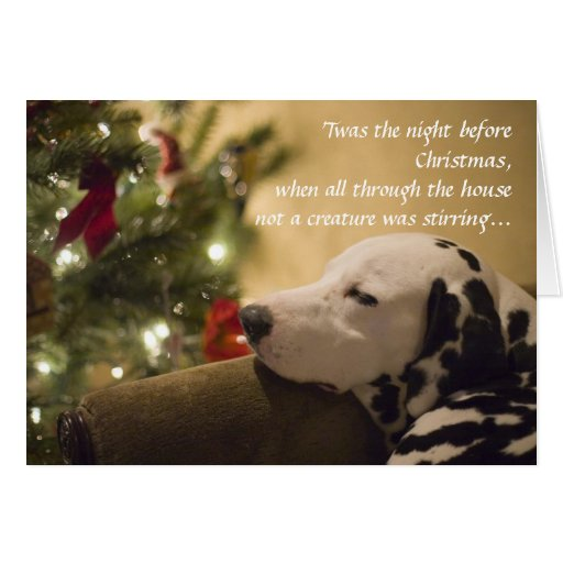 'Twas the night before... Greeting Card