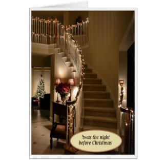 """Twas the Night Before Christmas"" Card w/Envelope"