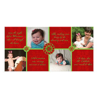 Twas the night before Xmas Holiday Photo Card