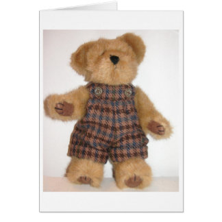 Tweedie Teddy Card