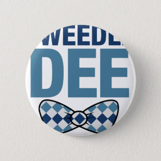 TWEEDLE DEE 2 INCH ROUND BUTTON