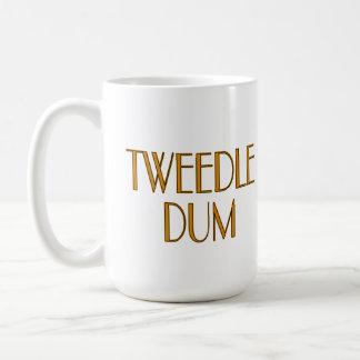 Tweedle Dee and Tweedle Dum Coffee Mug