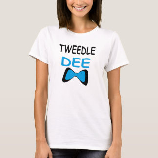 Tweedle Dee Couple T-Shirt