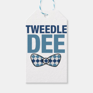 TWEEDLE DEE GIFT TAGS