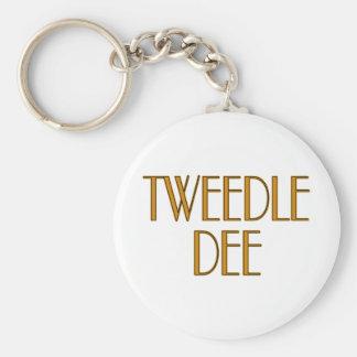 Tweedle Dee Keychain