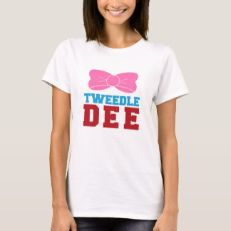 Tweedle Dee Matching Funny Graphic T-shirt