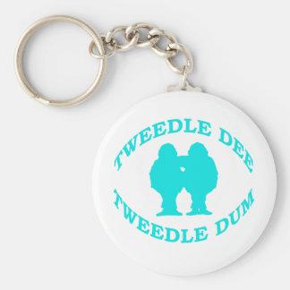 Tweedle Dee & Tweedle Dum Keychain