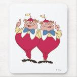 Tweedle Dum and Dee Disney Mouse Pad