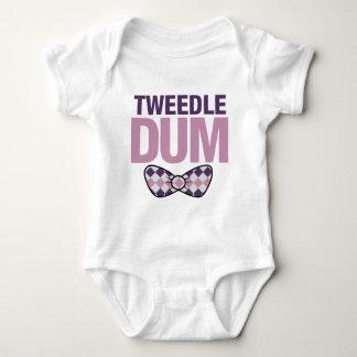 tweedle dum baby bodysuit