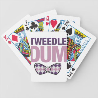 tweedle dum bicycle playing cards