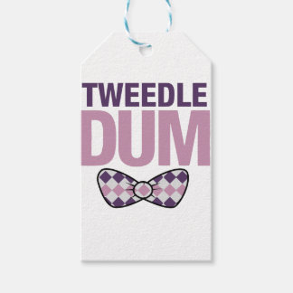 tweedle dum gift tags