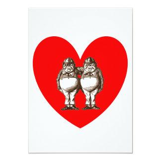 Tweedle Love Card