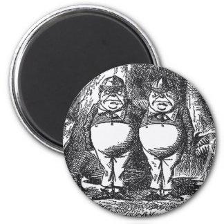 Tweedledum and Tweedledee Magnet