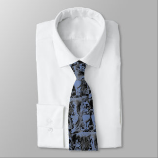 Tweedledum and Tweedledee Tie
