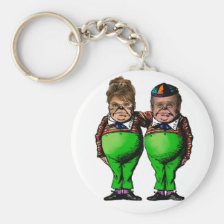 Tweedles Palin & Bush Keychains